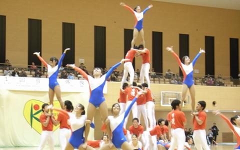京都体操祭に行ってきました! 新体育館で行われた体操祭。いろいろな演目で楽しませてくれました こ