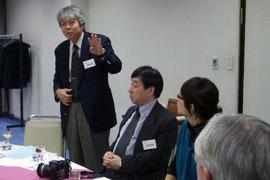 平嶋智晃副支部長の挨拶