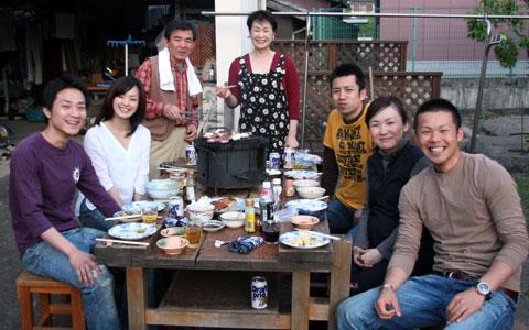 福壽 亨さんとご家族
