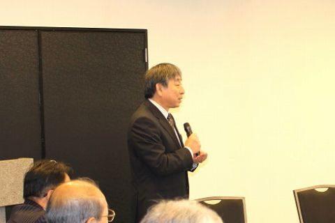 京都学園大学同窓会 武田和美九州支部長