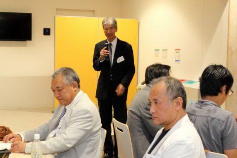 井尻雅丈同窓会副会長
