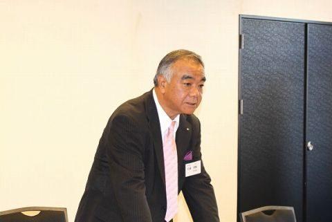 京都学園大学同窓会 佐藤茎輔九州支部副支部長