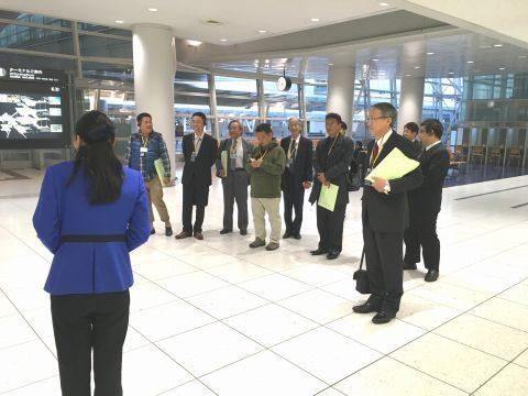 京都学園大学同窓会 東海支部 研修視察