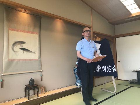 滋賀県支部総会 鳥居支部長挨拶
